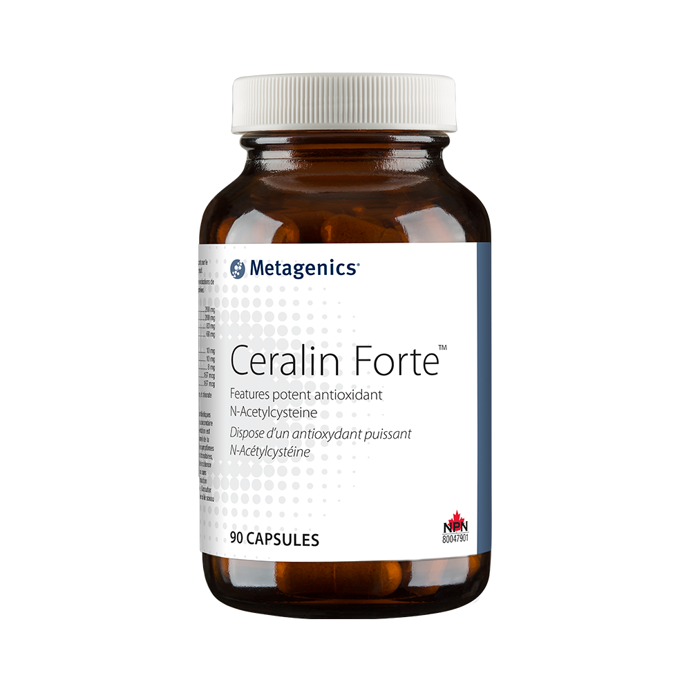 Ceralin� Forte Features potent antioxidant N-Acetylcysteine