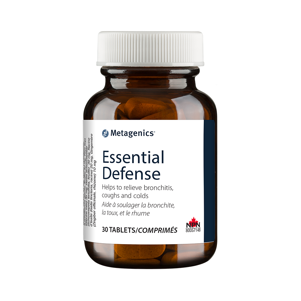 Essential Defense Helps to relieve bronchitis, coughs and colds